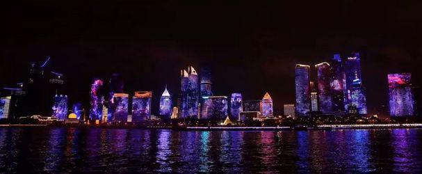 """山东彩旺建设晋级城市亮化业""""双甲""""行列冲版机"""